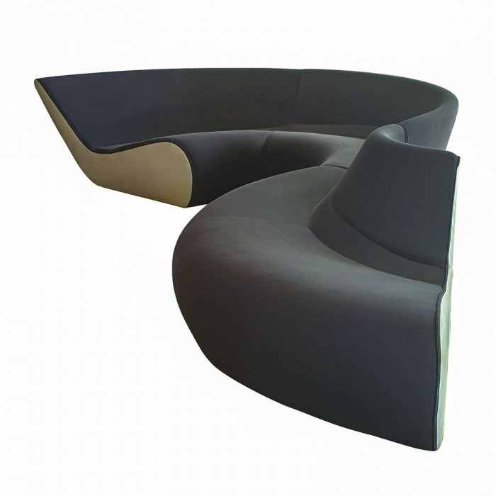 Walter Knoll Circle Sofa via Living Edge 2