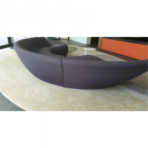 Walter Knoll Circle Sofa via Living Edge back