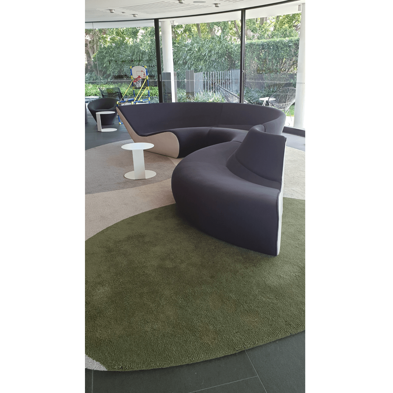 Walter Knoll Circle Sofa via Living Edge home