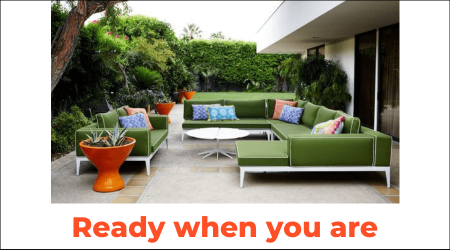 Two Design Lovers outdoor furniture blog cover image