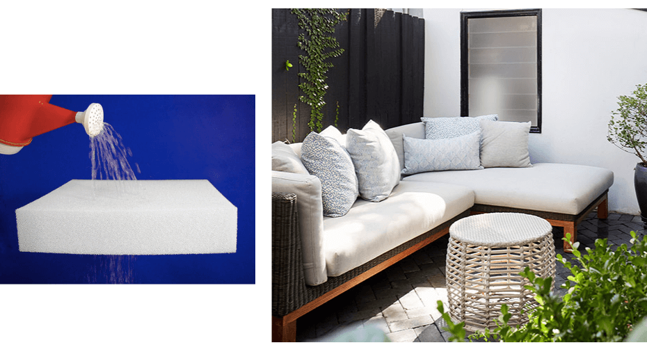 Two Design Lovers outdoor furniture blog osier belle reticulated foam