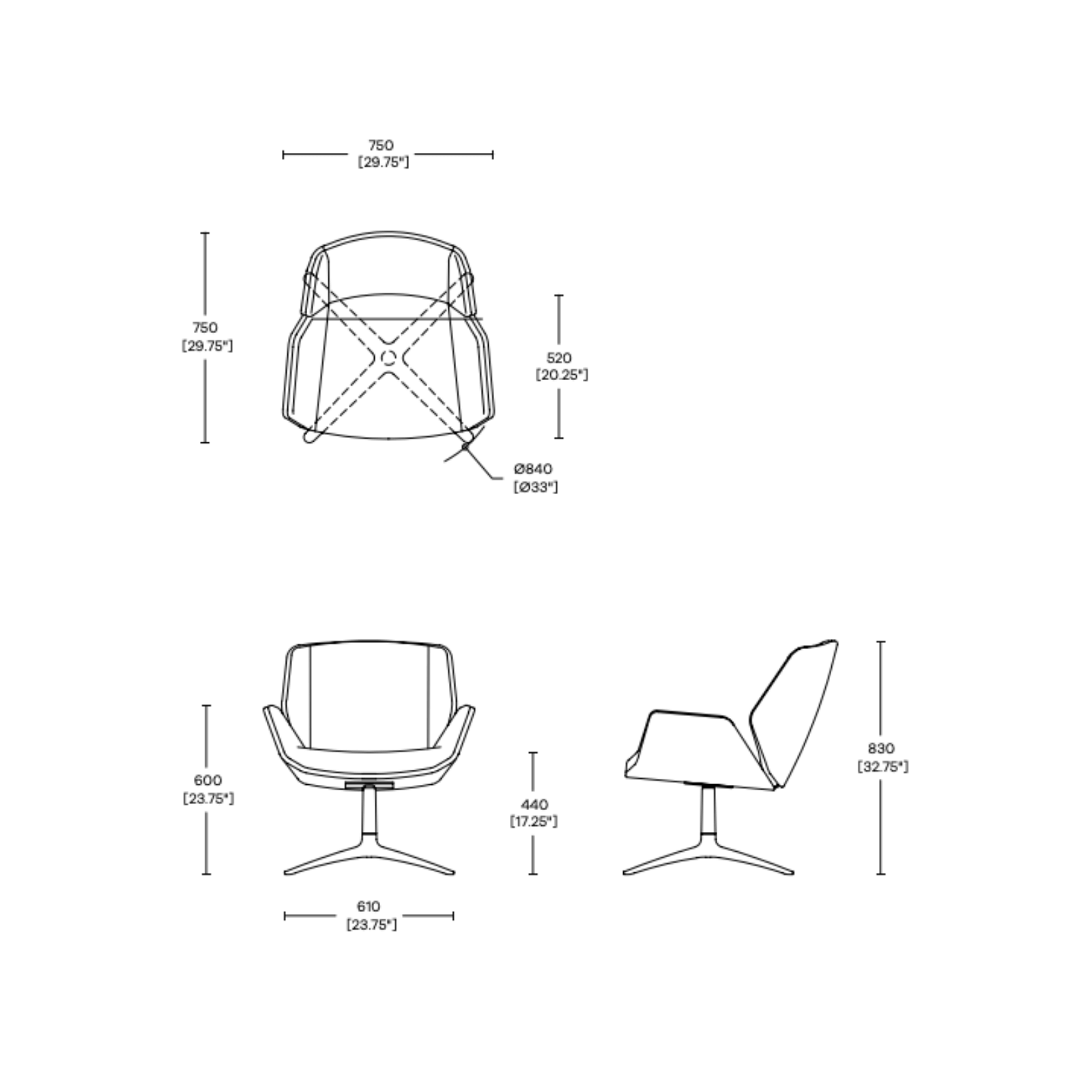 Boss Design Kruze Office chair specs
