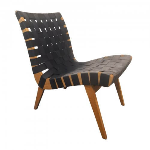 two design lvoers douglas snelling low chair black