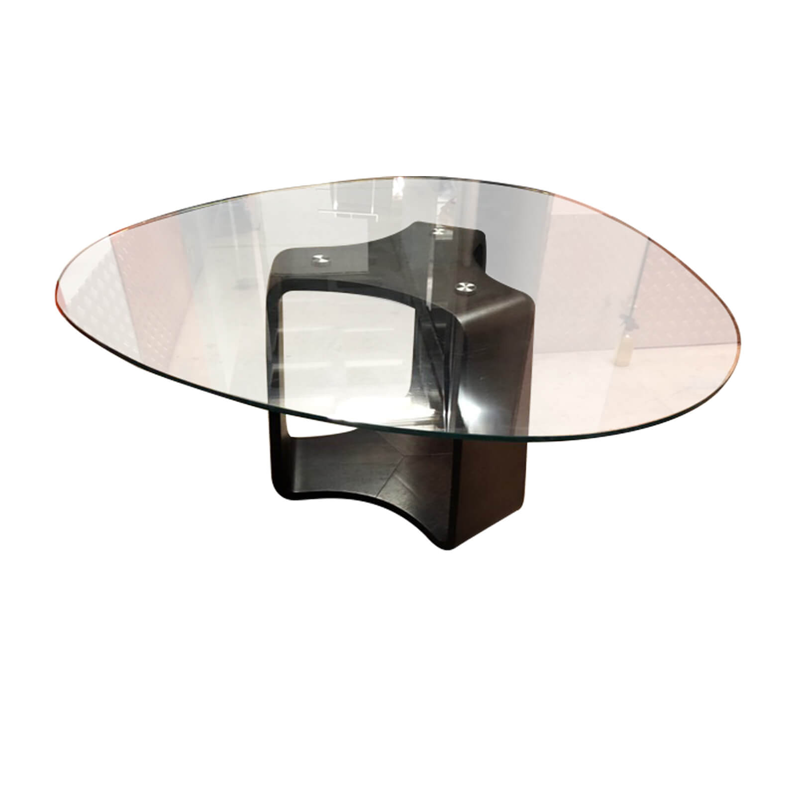 Two Design Lovers Contemporary Glass Dining Table