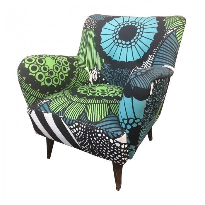 Two Design Lovers Marimekko vintage armchair