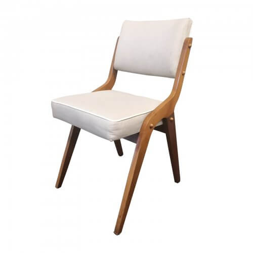 Two Design Lovers vintage Dining Chairs set of 6