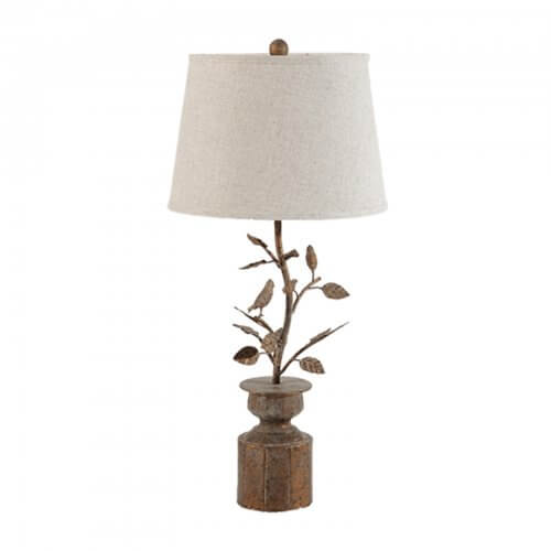 Hawthorn birds lamp
