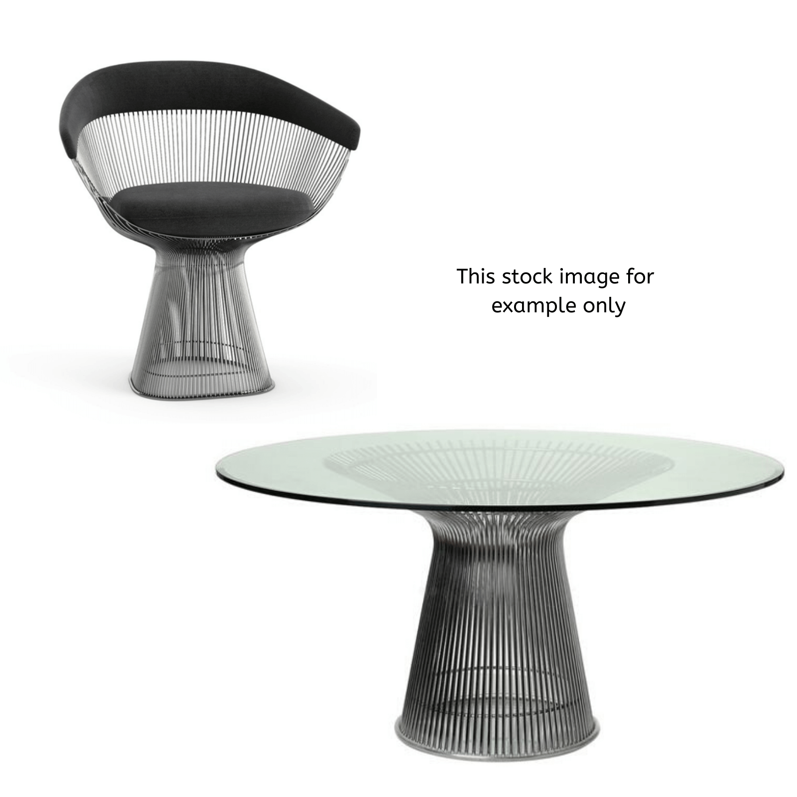 Two Design Lovers Platner Dining Chair & Table 8