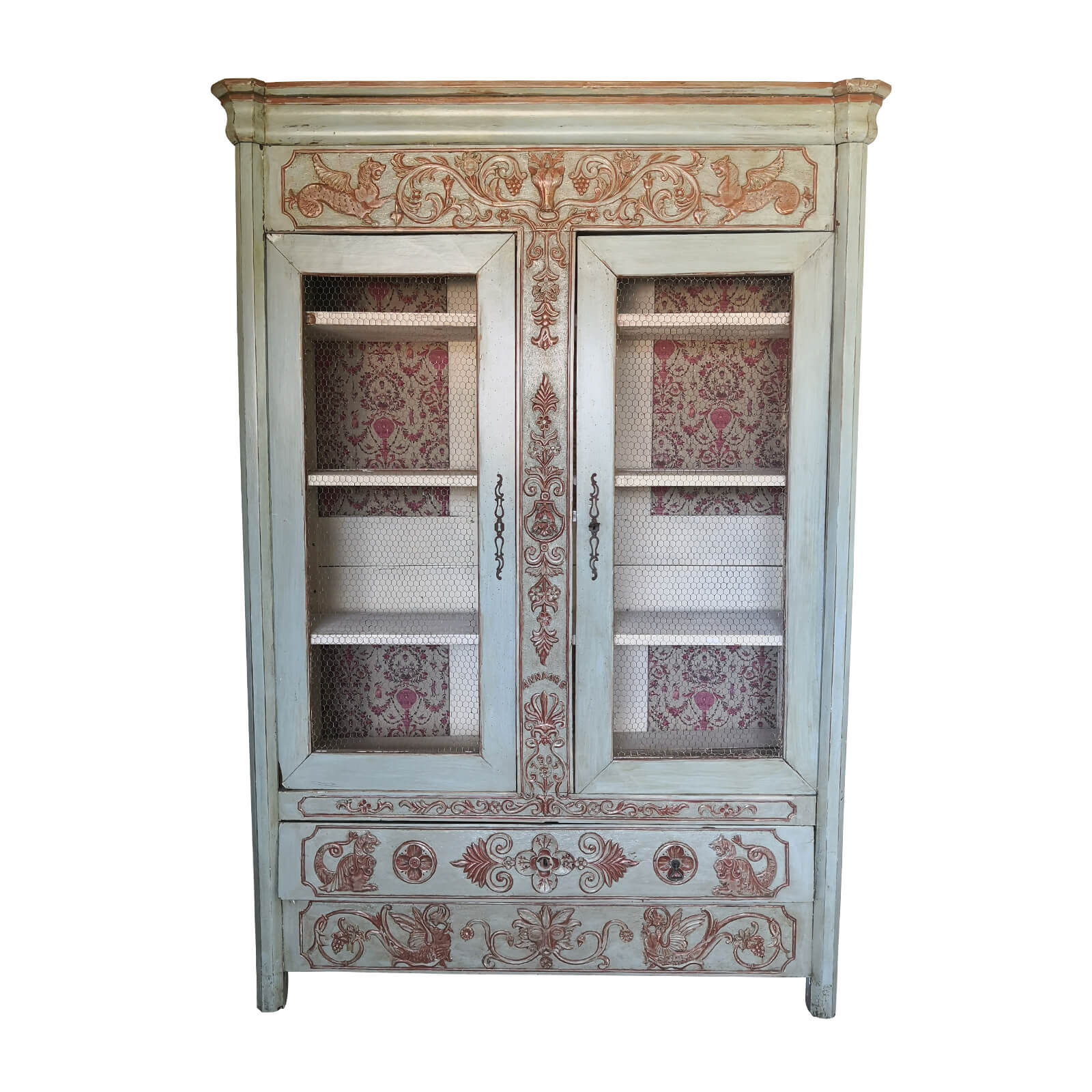 Two Design Lovers Antique French Armoire