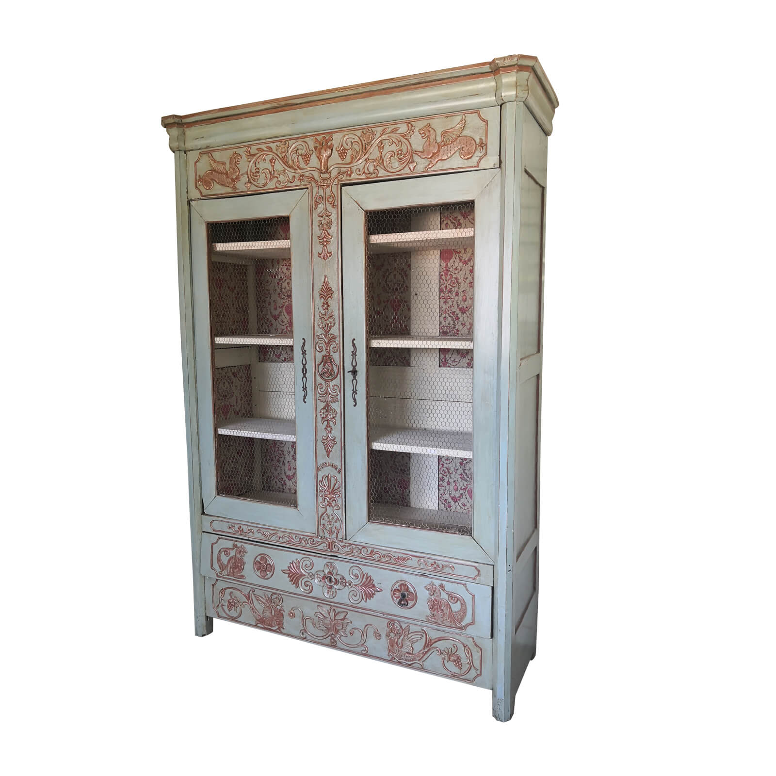 Two Design Lovers Antique French Armoire 1