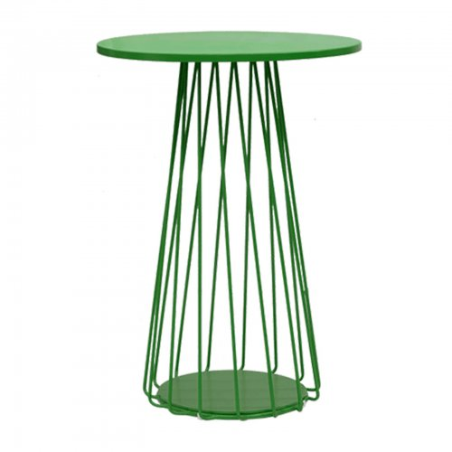 Outdoor bar table green