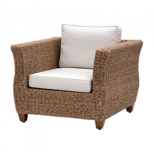 wicker armchair