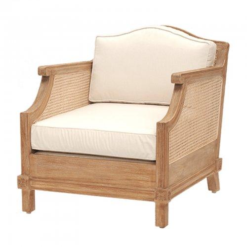 Teak and Cane armchair