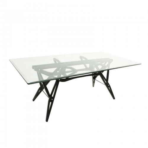 Carlo Mollino and Zanotta 2320 Reale table.side angle2.jpg
