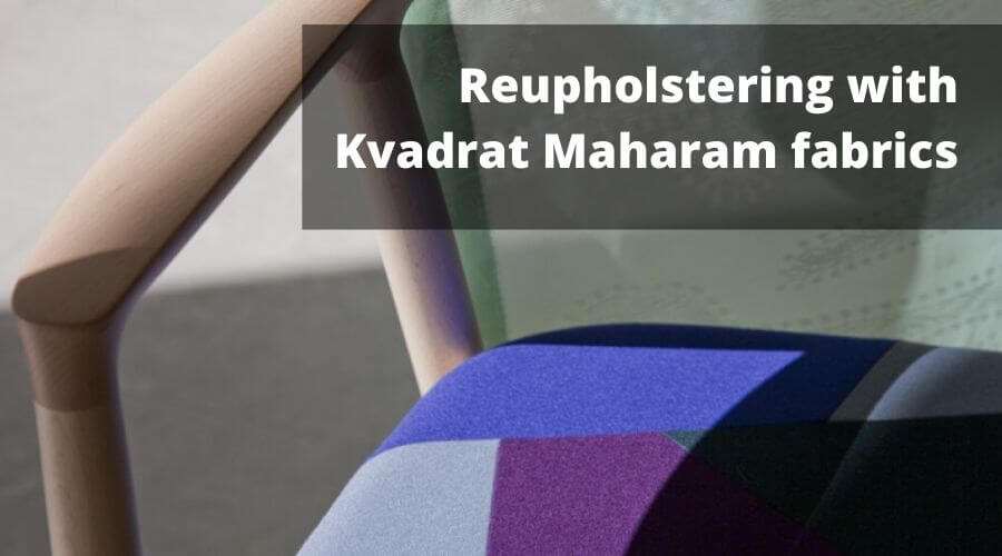 Kvadrat Maharam fabrics on Two Design Lovers