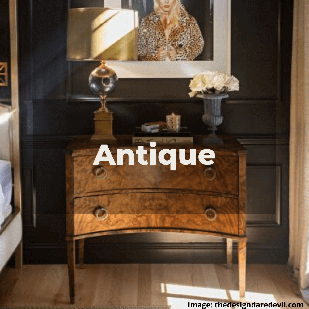 Two Design Lovers designer furniture Antique style category