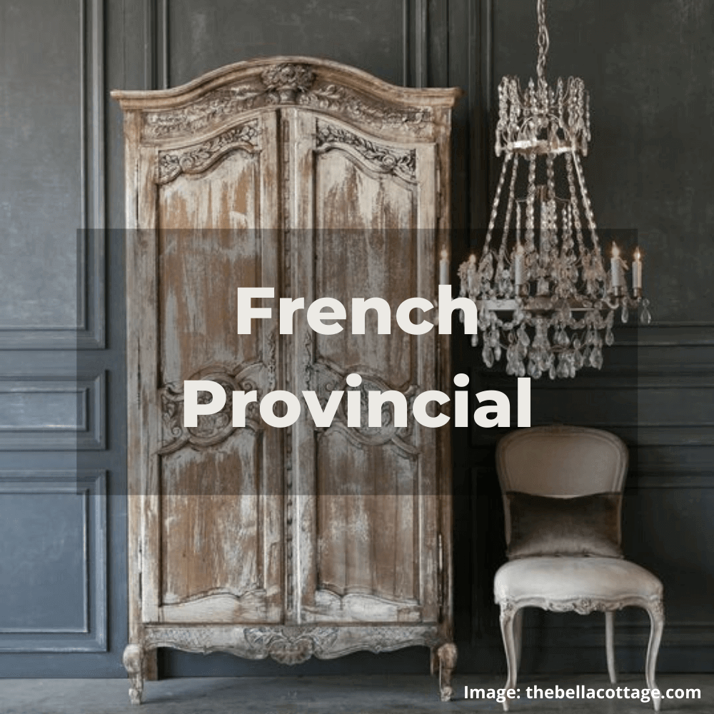 Two Design Lovers designer furniture French Provincial style category