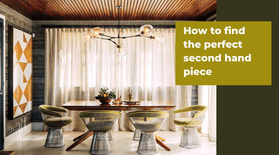 How to find Second-hand Furniture