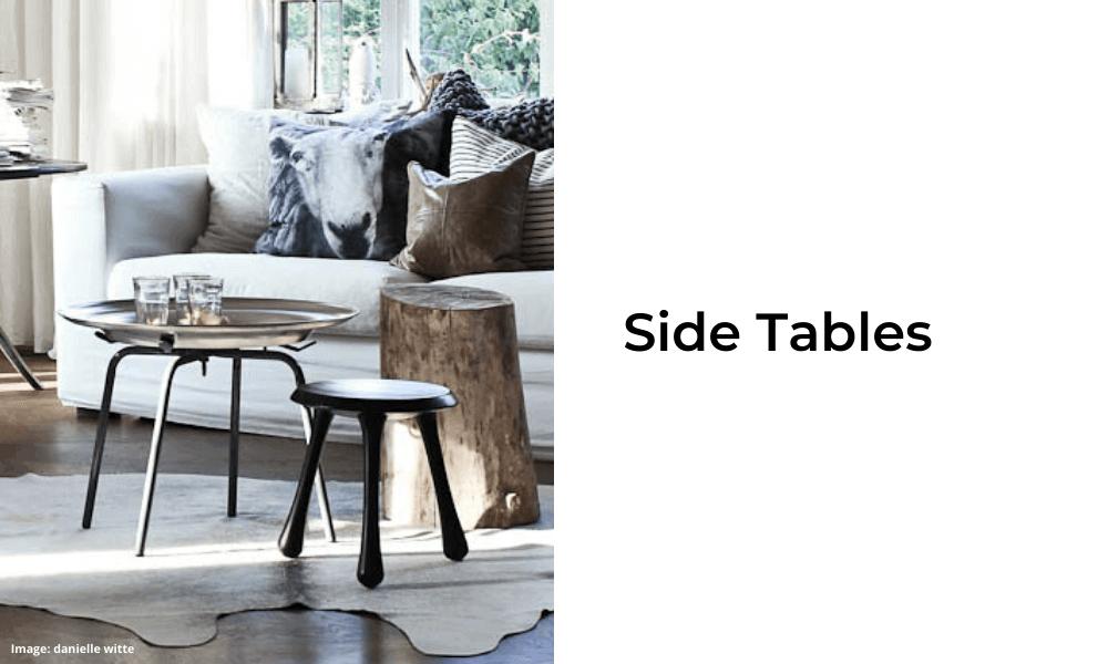 Two Design Lovers designer furniture Side Tables category
