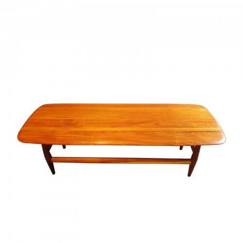 Two Design Lovers Carousel midcentury frisco coffee table