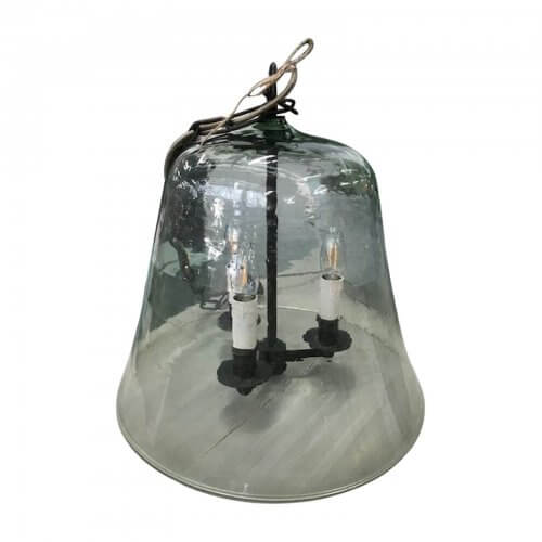 Rustic Coast Furniture Glass Cloche Light