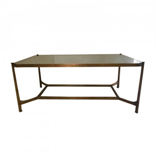 Eglomisee coffee table