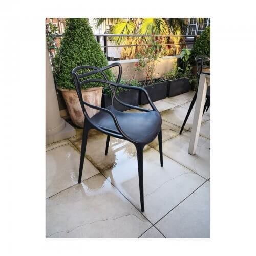 Kartel Masters chairs in black x8