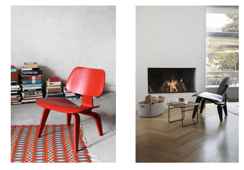 Ray and Charles Eames LCW Lounge Chair