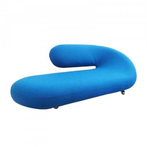 Two Design Lovers Artifort Cleopatra Chaise Longue by Geoffrey Harcourt