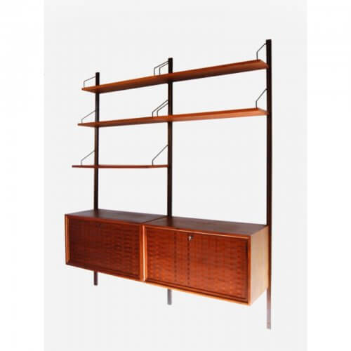 Poul Cadovius Danish wall unit