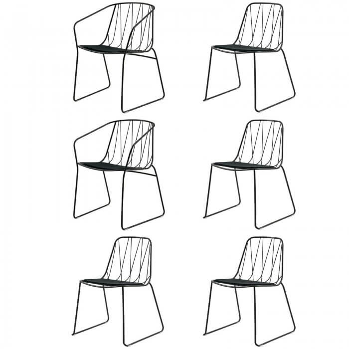 SP01 Tom Fereday Chee chairs set of 6
