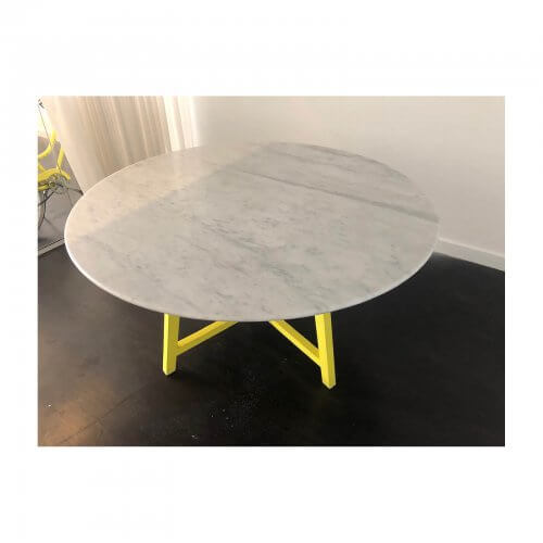 Jardan Iko carrara marble table
