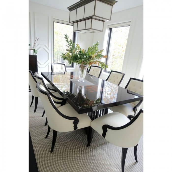 laura kincade dining table detail
