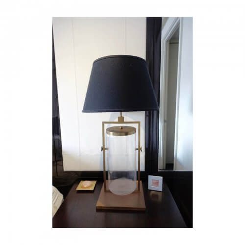 Two Design Lovers Laura Kincade Glass Lamp