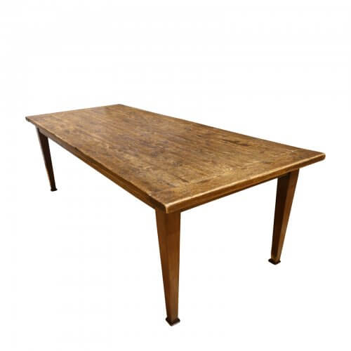 Original Finish rustic pine dining table