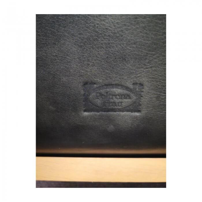 Poltrona Frau Jockey chair black leather