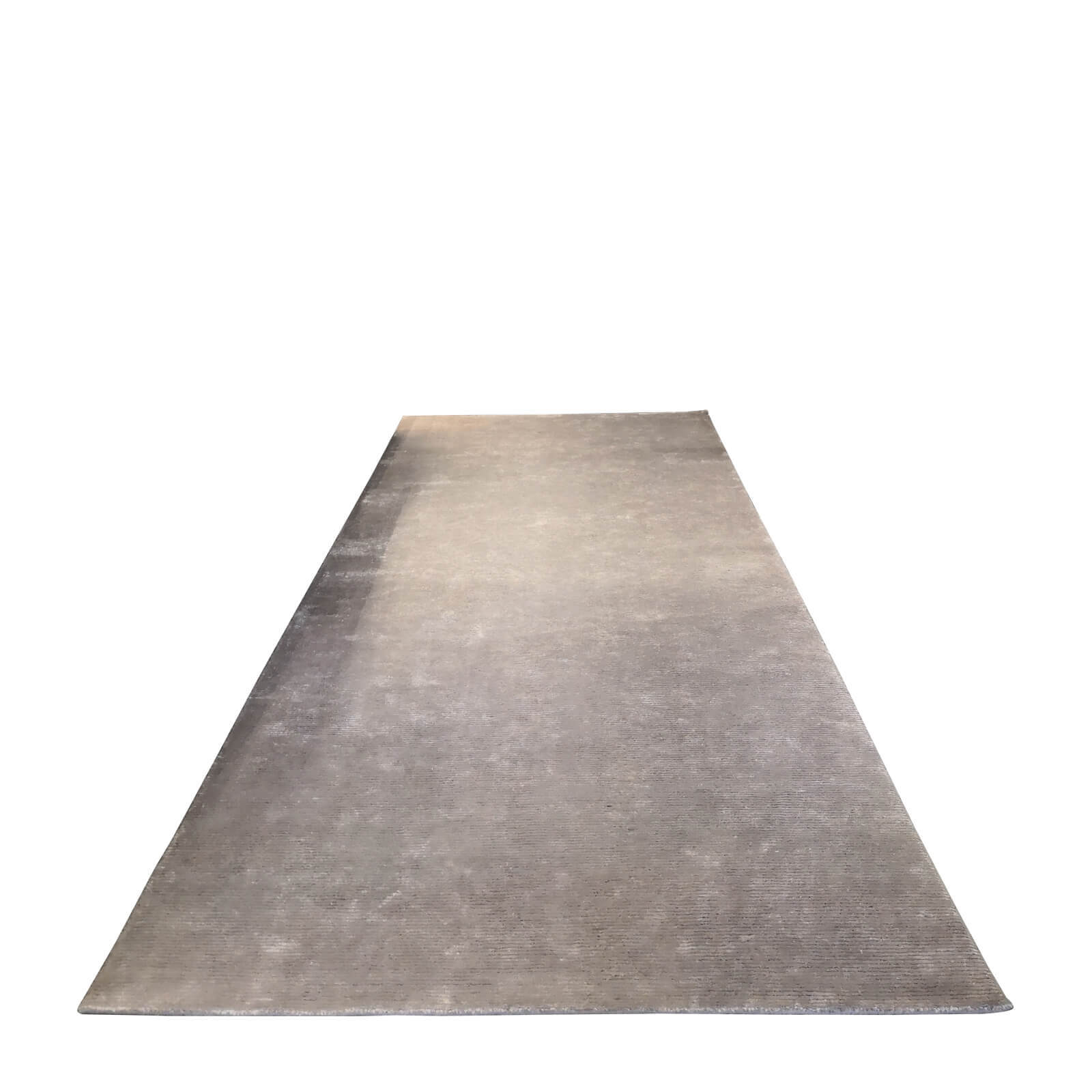 Bayliss Jewel wool rug in metal grey