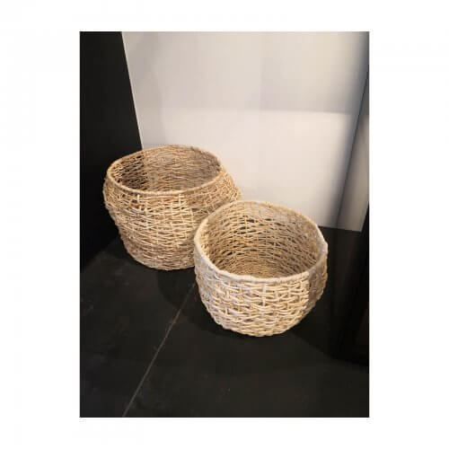 Papaya baskets set of 2