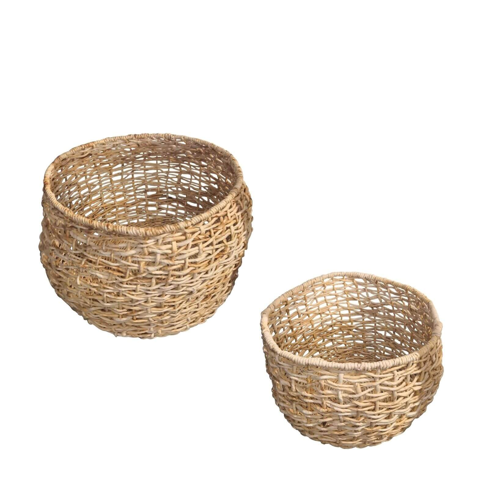 Papaya baskets set of 2