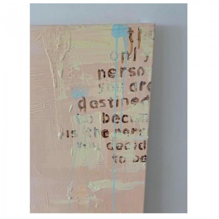 Salleigh Olsen painting 'Destined'