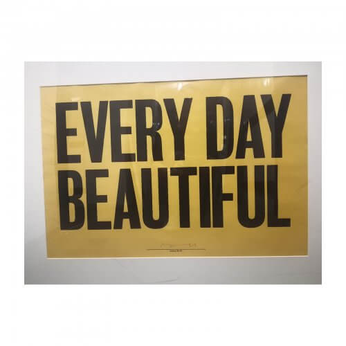 Anthony Burrill Every Day Beautiful
