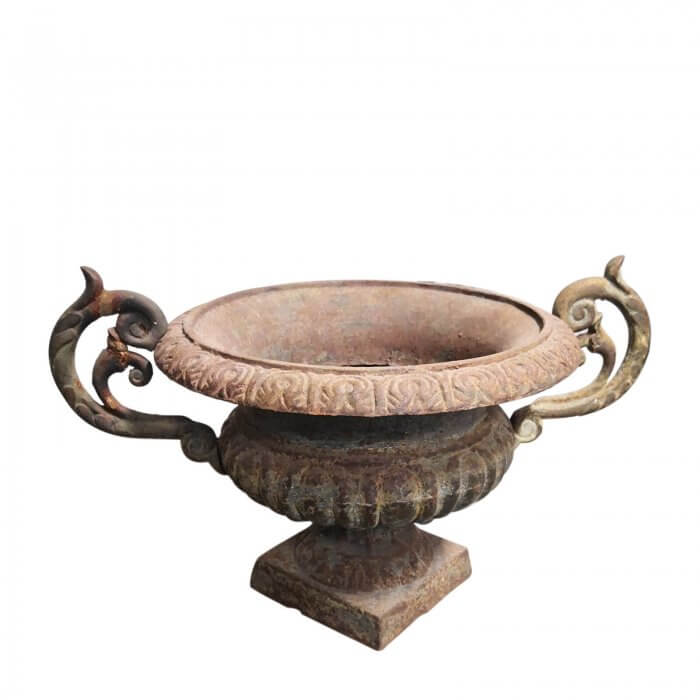 Antique French Iron Urn