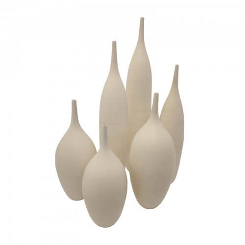 Collection of Handmade Porcelain Objects