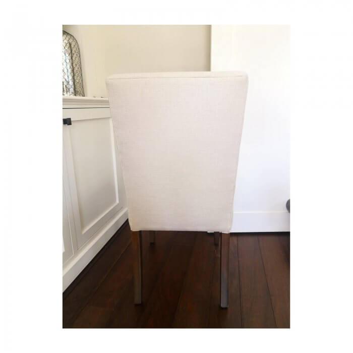Custom Dining Chairs in Westbury Linen