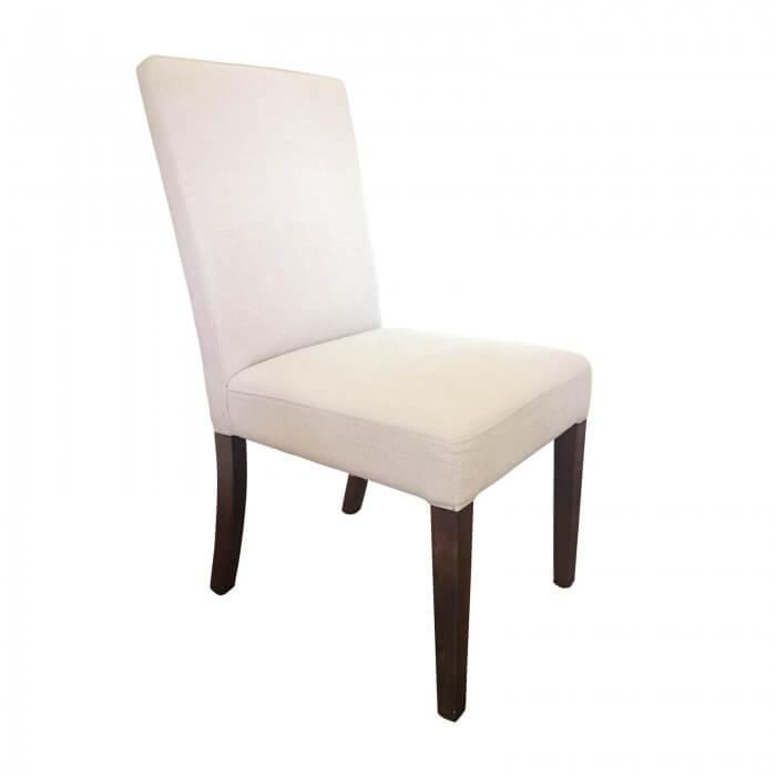 Custom Dining Chairs in Westbury LinenCustom Dining Chairs in Westbury Linen