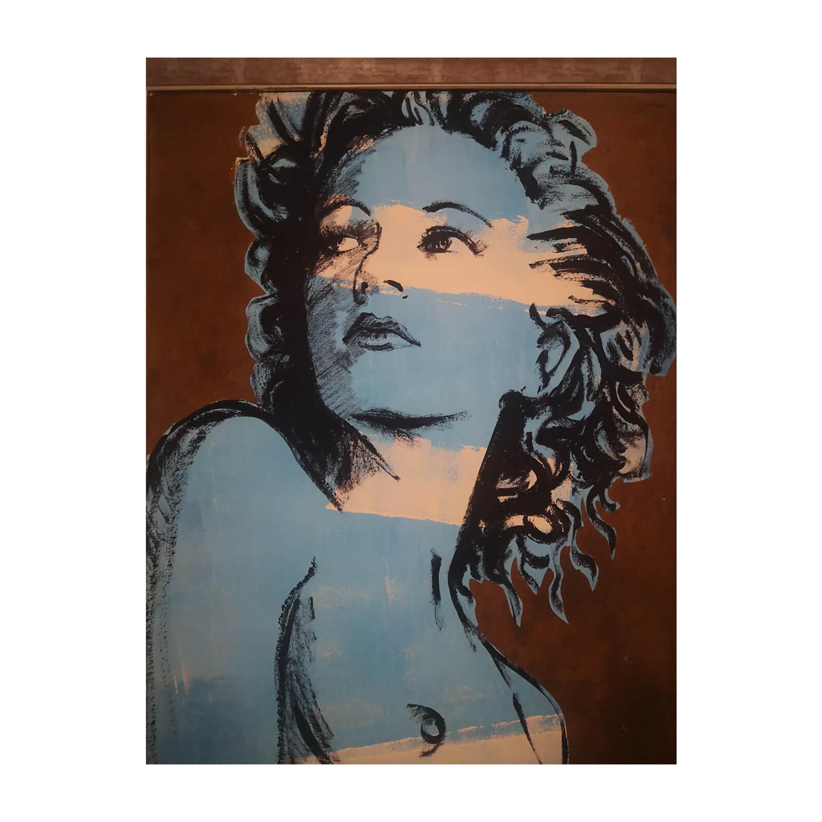 David Bromley, Hillary, original artwork