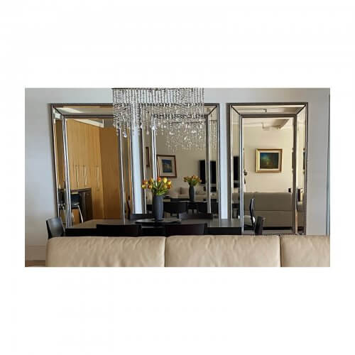 Decorative Silver Framed Mirrors