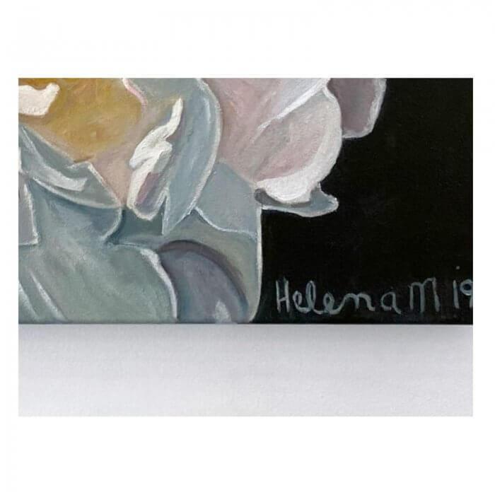Helena McConochie Waterdrops on Peonies Eleni