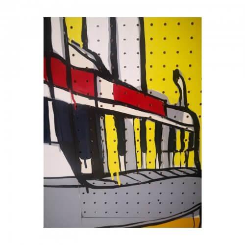 Jasper Knight original art work Dee Why 1960s