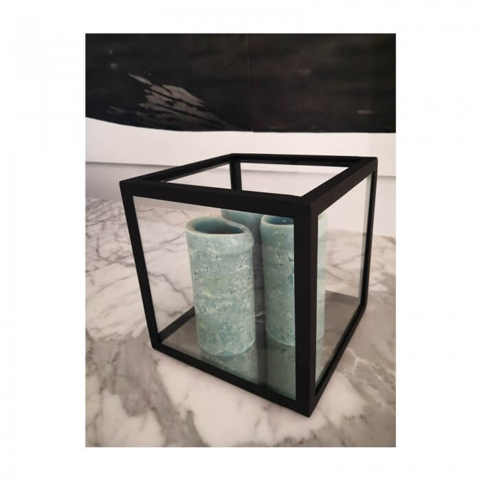 LuMu Interiors Small Hurricane Lantern